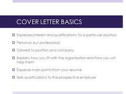Cover Letters Yeah Agenda Cover Letter Basics Preliminary