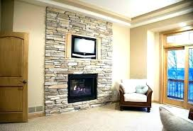 modern faux fireplace ideas fake stone wall rock for painting ide fake rock wall faux stone panels fireplace