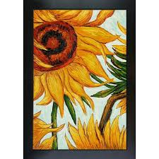 vincent van gogh x27 sunflowers x27 detail hand painted framed