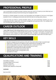Mining Resume Sample Mining Resume Example Job Sample Template Free Geologist Examples 4