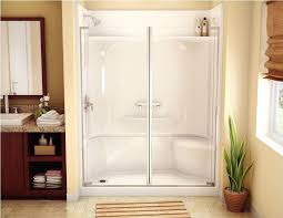 walk in shower with seat for elderly