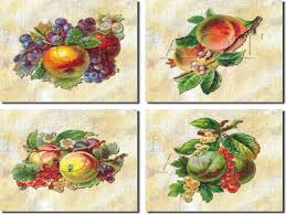 kitchen tiles with fruit design. art for the kitchen fruit ceramic tile backsplash - tiles with design .