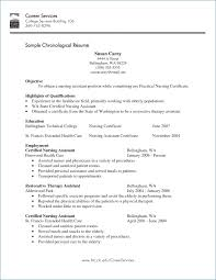 Resume Letters How To Write Cna Resume Skills