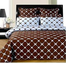 king 25 chocolate and blue 8pc bloomingdale duvet covers sheet set i a blue and brown chocolate brown duvet