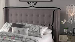 Terrific Wingback Nailhead Headboard 50 About Remodel Headboard Ikea with  Wingback Nailhead Headboard