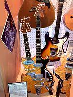 multi neck guitar left custom built mosrite double neck guitar for joe maphis octave guitar right bigsby double neck guitar mandolin