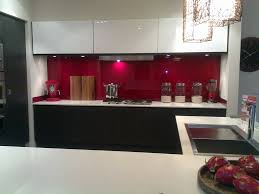 Red Kitchen Design Red Splashback Kitchens Pinterest Sexy Black And Dads
