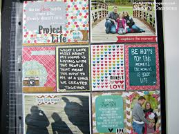 Creative Cover Page Ideas Project Life Title Scrapbook Front