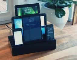 multi phone charging station. Multi Device Charging Station Multiple Devices Including Phone B