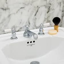 perrin rowe lifestyle: perrin amp rowe bath faucets three hole lever crosshead handle with low canaroma bath amp tile