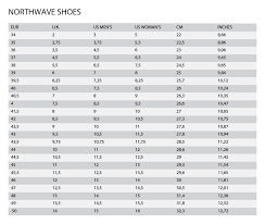 Northwave Size Chart Northwave Sonic 2 Srs Shoe Bicycle Superstore