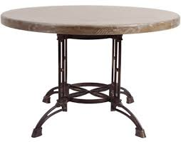 ROUND & METAL TABLE by Forty West Designs