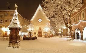 christmas snow wallpaper hd. Interesting Wallpaper Snow Filled Town Centre Inside Christmas Wallpaper Hd R