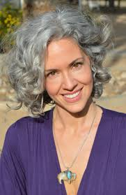 Pretty Woman Hair Style 141 best curly gray hair images going gray silver 2585 by wearticles.com