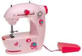 Barbie Lightweight Portable Sewing Machine