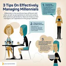 three tips on effectively managing millennials your career intel three tips on effectively managing millennials