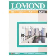 <b>Фотобумага Lomond A4 90g/m2</b> матовая одностороняя 102001 ...