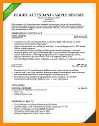 Bilingual Flight Attendant Sample Resume Unique Resume Sample Flight Attendant Resume Flight Attendant Resume