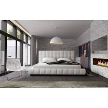 ... Thompson Queen Bed in White, ...