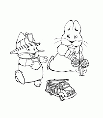 Small Picture Impressive Max And Ruby Coloring Pages Printable Inside Awesome