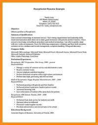 Sample Medical Receptionist Resumes 12 13 Medical Secretary Resumes Samples Lascazuelasphilly Com