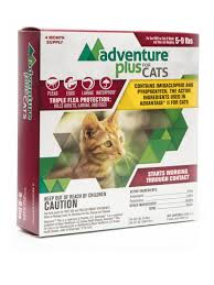 Advantage Ii Dosage Chart For Cats Adventure Plus For Cats
