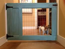 Dutch Door Baby Gate Made My Own Dog Gate Using Half An Old Door With The Glass Traded
