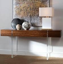 acrylic furniture. Aristar Desk - John-Richard Acrylic Furniture