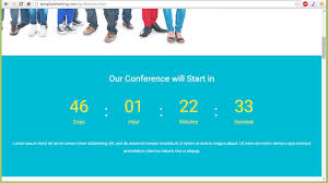 countdown templates landing page how to manage countdown timer template monster help