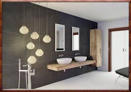 Badezimmer In Grau Schwarz