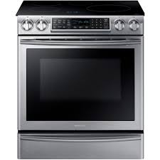 Samsung Induction Range Chef Collection The Home Depot Samsung 58 Cu Ft Slidein Induction Range With Virtual Flame Technology In Stainless Steelne58k9560ws