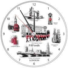 9 wall clock london attractions