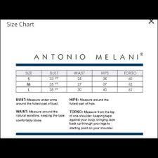 Antonio Melani Twist Pattern Bikini Bottom Lg