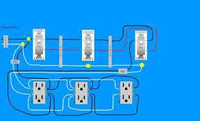 need diagram help on easiest way to wire split receptacles on  need diagram help on easiest way to wire split receptacles on 4 way switch com community forums