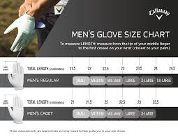 Callaway Golf Shirt Size Chart Callaway Golf Glove Sizing Chart Images Gloves And