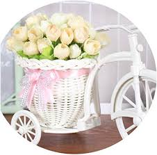 17 Kinds Style Rattan Vase + Flowers Meters Spring ... - Amazon.com