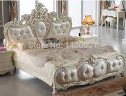 new style furniture design. Luxury European Style Carved Wooden Bed Design,New Arrival Cream . New Furniture Design