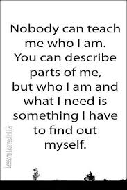Who Am I Quotes Custom Am Who I Am The Daily Quotes