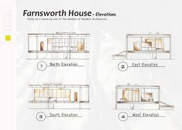farnsworth house floor plan dimensions 28 collection of farnsworth house section drawing high quality