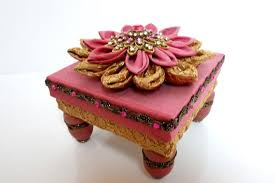 Decorative Ring Boxes Ring box recycled ring box decorative box fabric covered box 3