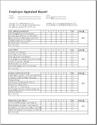 Employee Appraisal Form Performance Appraisal Template Free Simple Performance