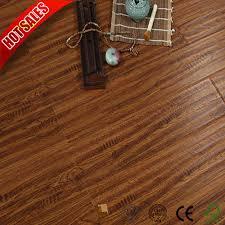 china top laminate flooring brands with medium embossed china hardwood flooring building material