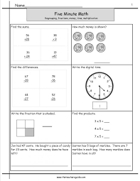 Excel : Worksheets For All Download And Share Free Minute Frenzy ...