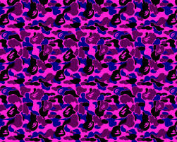 Bape Pattern Fascinating Bape Desktop Wallpaper Group With 48 Items