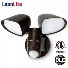 Dual Bright Motion Light Leonlite Dual Head Led Outdoor Security Light With Motion