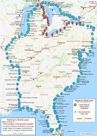 Great Loop Charts Americas Great Loop Route Map And Adventure