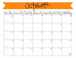 Print Calendar October 2015 Calendar Template 2017 Printable Calendar