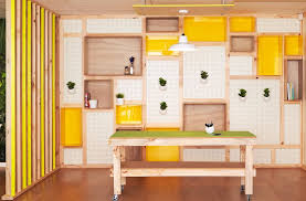 Use pegboards to design a custom wall