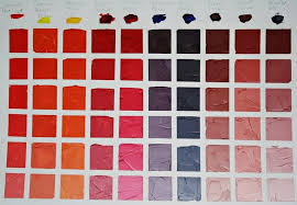 Colour Value The Dominant Colour In This Chart Is Cadmium