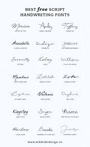you have successfully subscribed best free script handwriting fonts